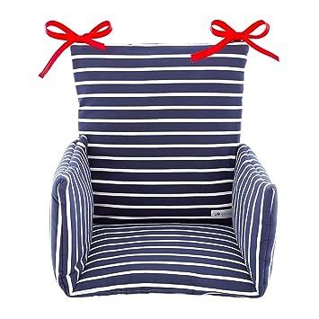 Marinière Bretonblancmarine Chaise Coussin Haute De Cocoeko doWrxeCB
