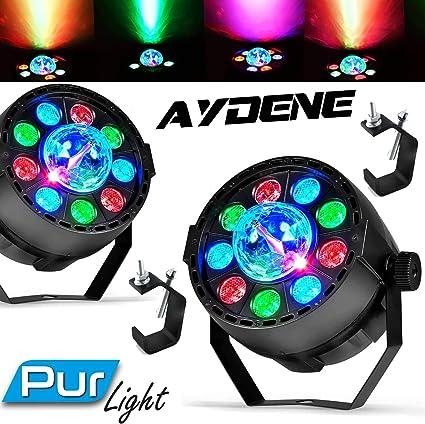Pack luces DJ Sono Club Déco Projector par Mini + Domo Astro de ...