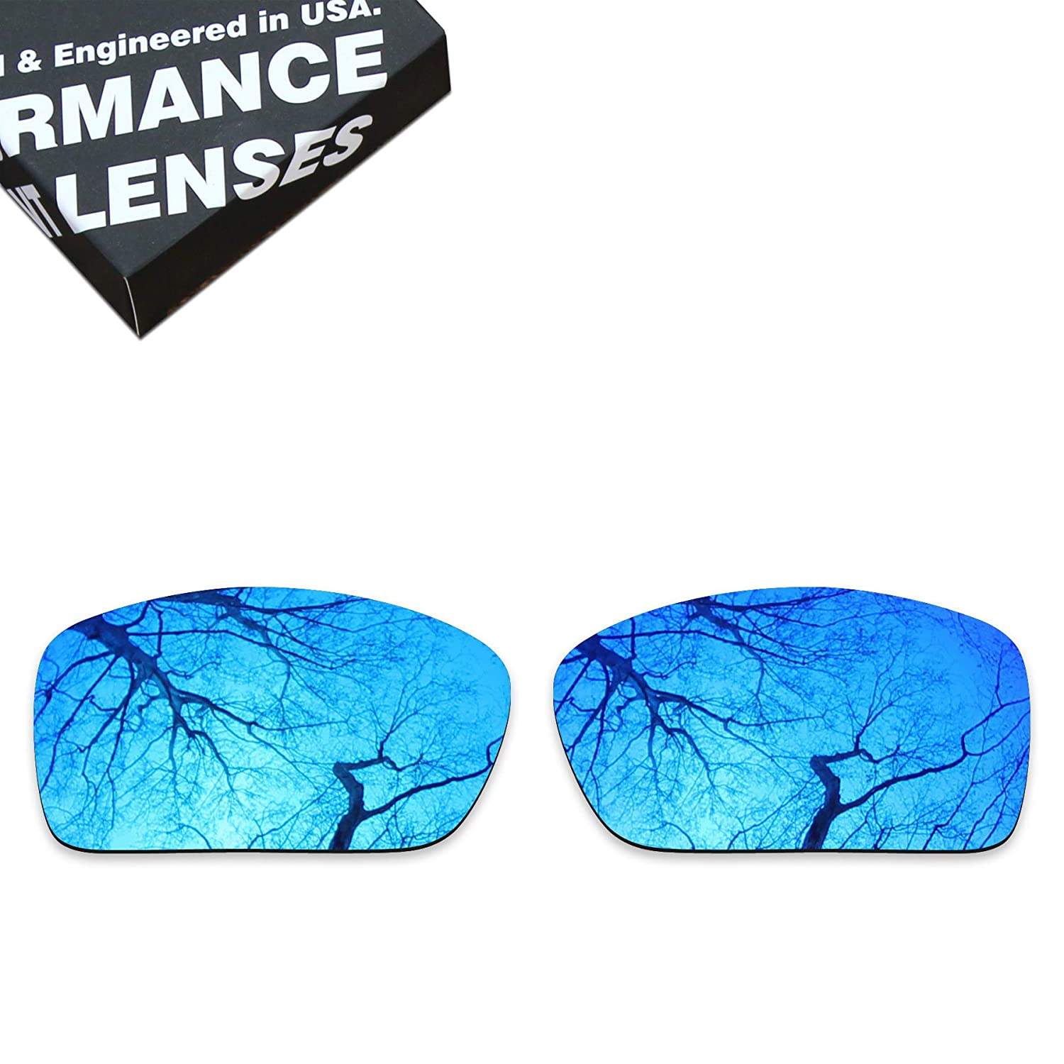 Violet Blue ToughAsNails Polarized Lens Replacement for Costa Del Mar Blackfin Sunglass