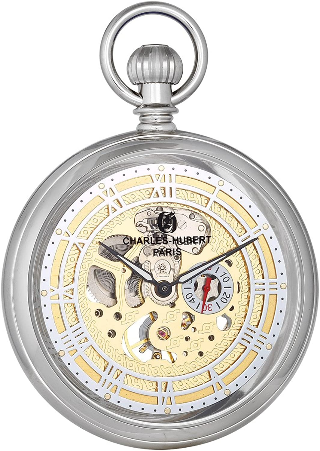 Charles Hubert, Paris DWA034 Classic Collection Pocket Watch