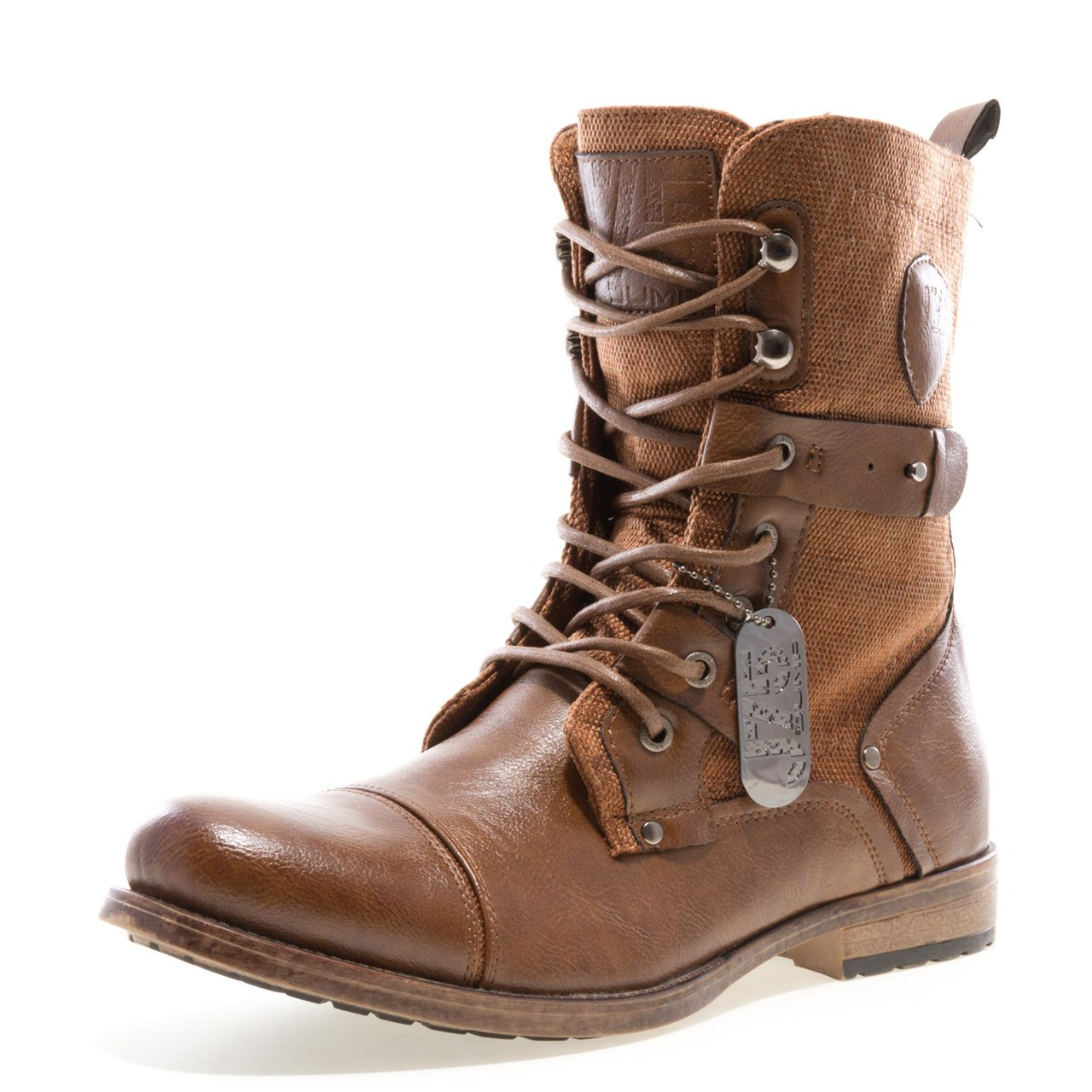 Jump J75 by Men's Deploy Military Boot Tan 11 D US