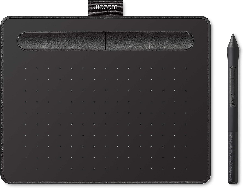 ワコム ペンタブレット Wacom Intuos Smallベーシック お絵かきソフトウェア付き 黒 Androidにも対応 データ特典付き TCTL4100/K0