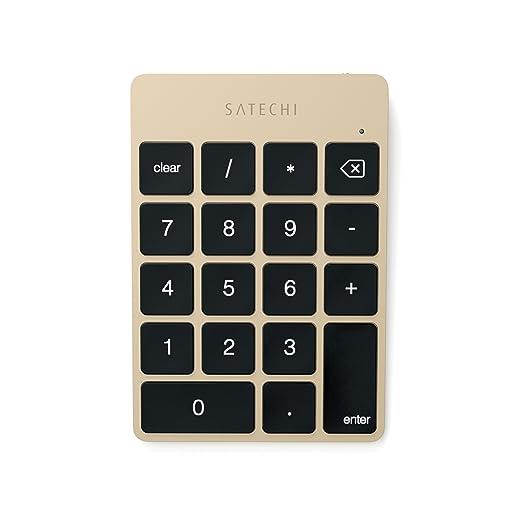 12 opinioni per Satechi estensione tastiera tastierino 18 tasti wireless Bluetooth in alluminio