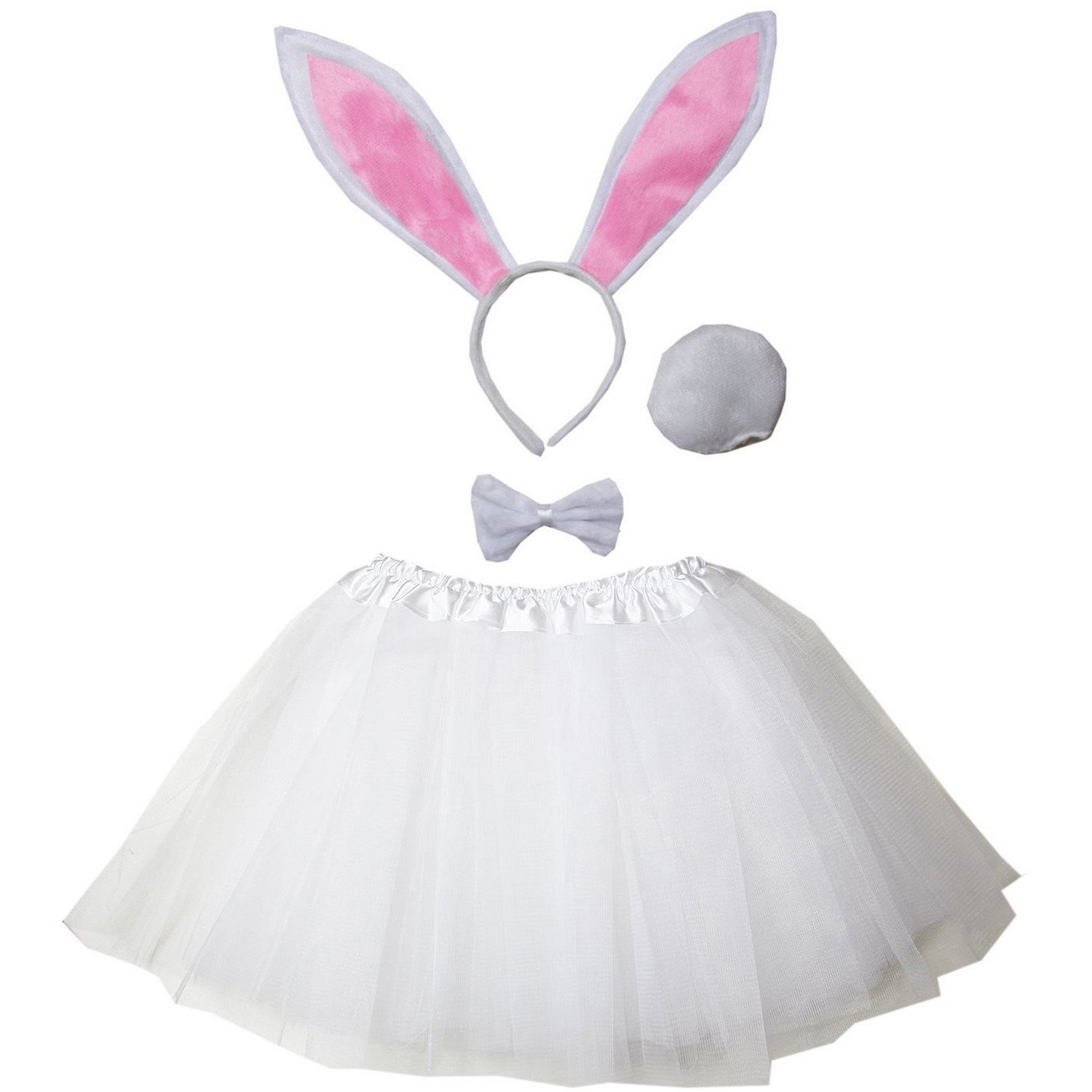 Kirei Sui Kids Costume Tutu Set White Bunny