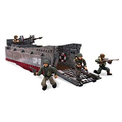 Mega Construx Call Of Duty WWII Beach Invasion: Toys & Games
