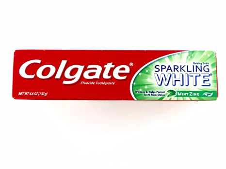Amazon.com: Colgate Toothpaste Sparkling White Mint Zing 6.4oz Dr.fresh 6 Pack Firm Toothbrushes, Dental Flossers: Health & Personal Care