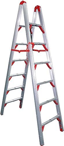 Telesteps 700FLD OSHA Compliant 7 ft. Double sided folding step ladder (STIK)