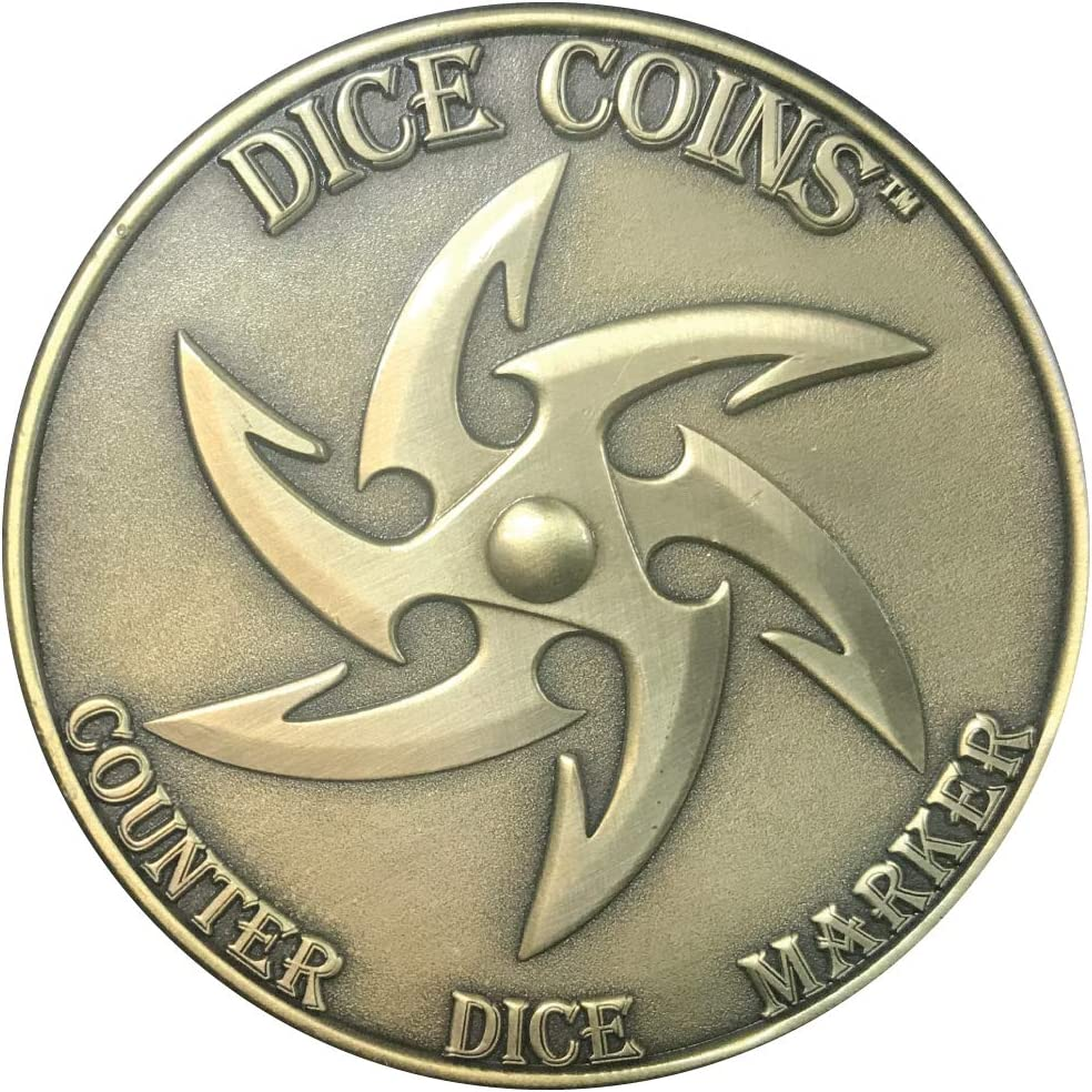 Mythic Nation d4 Wizard RPG Dice Coin