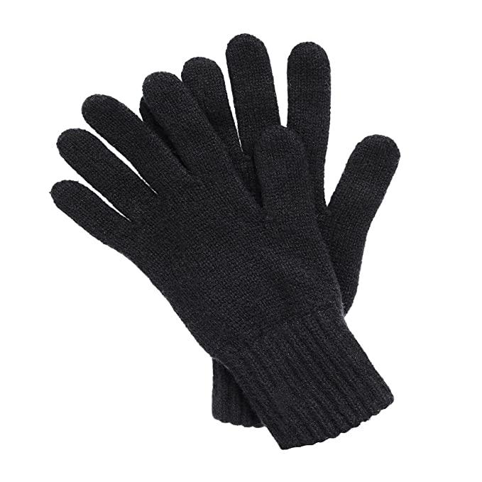 79d71c2c7b5 Women s Cashmere Gloves made in Scotland (Black)