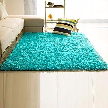 Amazon DODOING Super Soft Solid Carpet Floor Rug Living Room