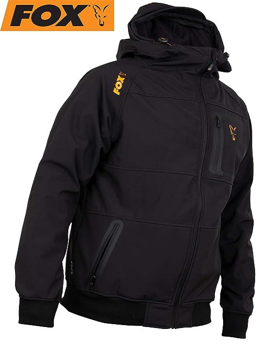 Pullover Kapuzenpullover Bekleidung Fox Collection Black Orange LW Hoodie