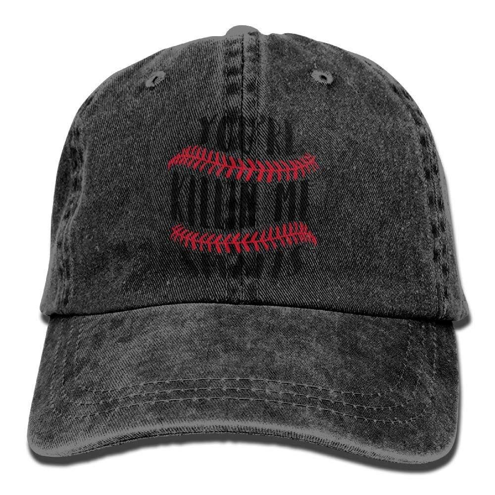 JTRVW Youre Killin Me Smalls Vintage Cowboy Baseball Caps Trucker Hats