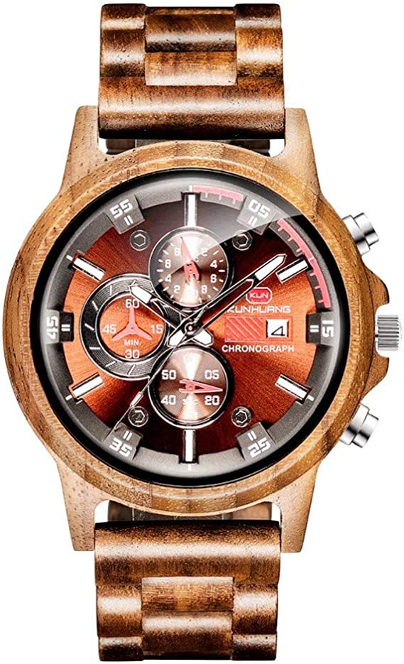 Wooden Watch for Men Women