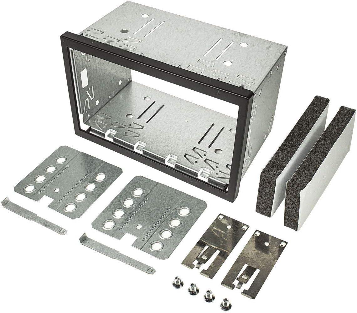 Tomzz Audio 2400 009 2din Doppel Iso Din Metal Rahmen Elektronik