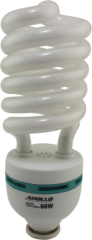 Apollo Horticulture 60 Watt 6500K CFL Light Bulb