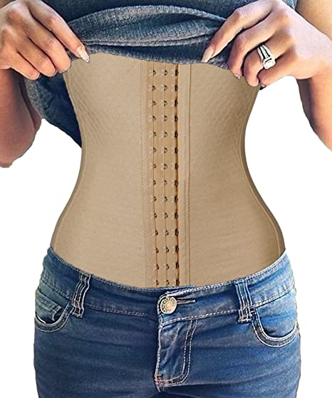 b99efe993f5 Image Unavailable. Image not available for. Color  FUT Waist Trainer  Training Shaper Body Shapewear Underbust Cincher Tummy Belt