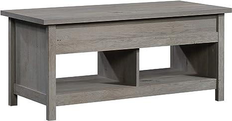 Sauder Cannery Bridge Lift Top Coffee Table Mystic Oak Finish Furniture Decor