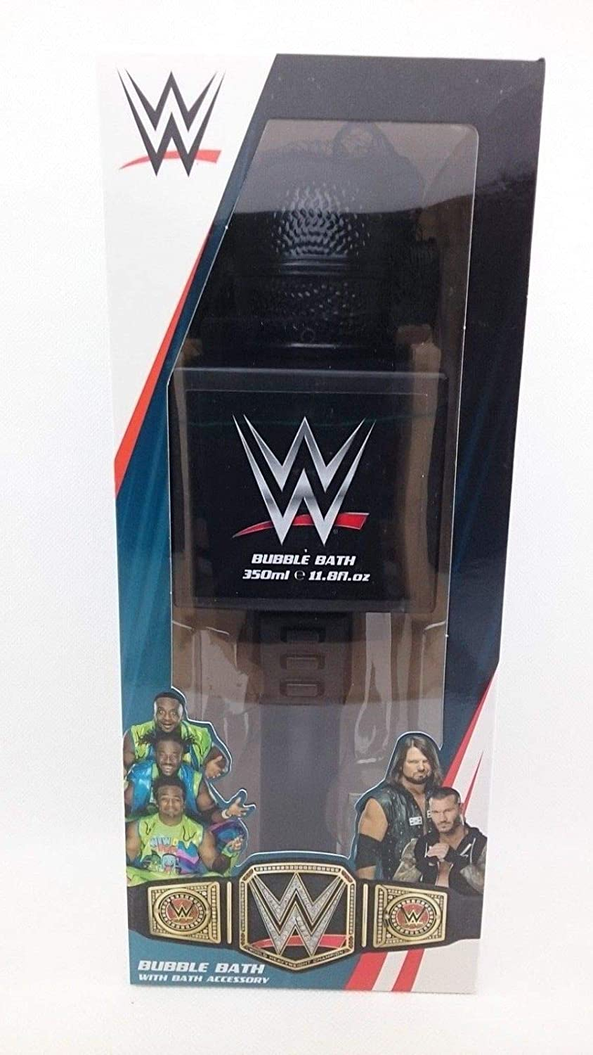 WWE Microphone Bubble Bath with Body Puff Corsair Toiletries Ltd