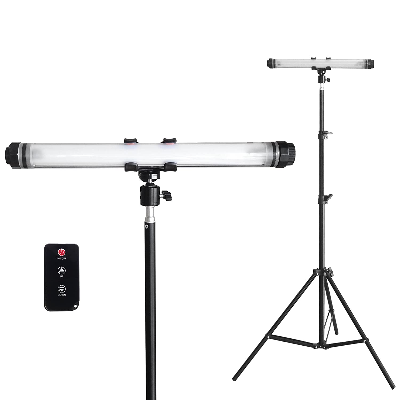 HORUSIS CHARGE LAMP CL-Pro 5500K 1灯式投光器スタンドセット ホルシス チャージランプ 完全防水 IP68 充電式防水投光器 広範囲灯 超高輝度LED(最大450LM 明るさ3段階 点滅モード付き) 完全防水(防塵防水性能IP68) 耐衝撃強力プラスチックPCカバー スマートフォン充電機能付き(モバイル充電器:バッテリー容量10400mAh USB出力最大2.1A) B075NBPGHK 14904