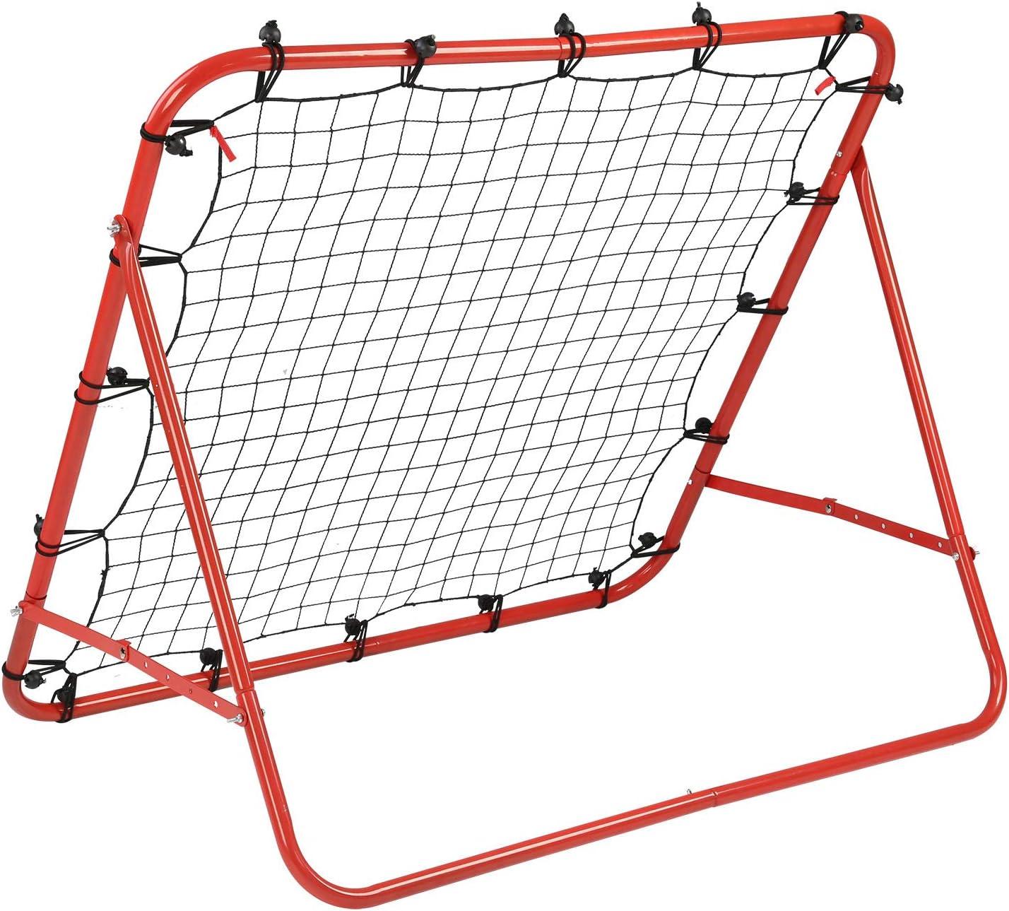 Kickback Football Goal Ball Training Net Soccer Target Rebounder for Kids Teach