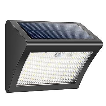 iposible Lampe Solaire Extérieur, 38 LED Lumière Solaire avec ...