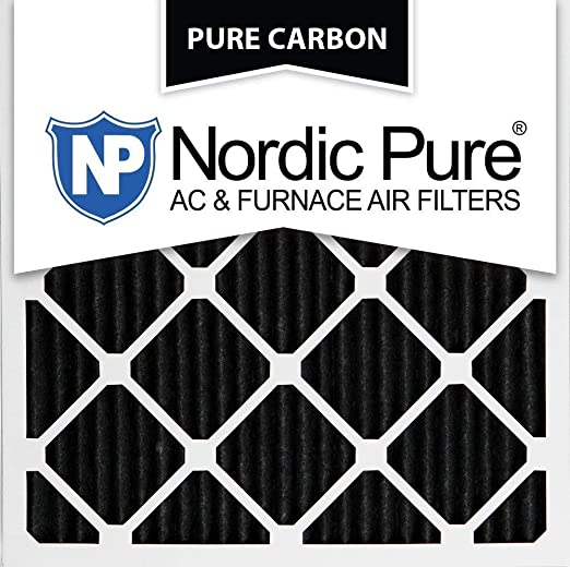3 Pack 3 Piece Nordic Pure 14x14x1 MERV 12 Pleated AC Furnace Air Filters