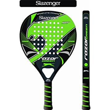 Slazenger Razor Green Pala, Unisex, Verde/Negro, 38 mm: Amazon.es: Deportes y aire libre