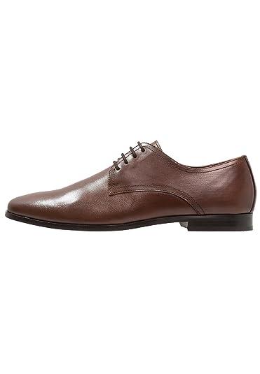 Pier One Zapatos para Hombre de Cuero - Zapatos de Cordones ...