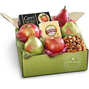 Golden State Fruit Cheese Fruit & Nuts Gift Box