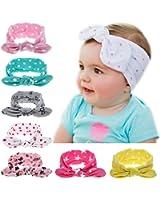 Itaar Baby Girl Turban Headband Head Wrap Dot Hair Band headwrap