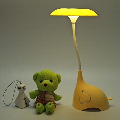 Flikool Flexibles Elephant Led Lampe De Bureau Rechargeable Lumiere