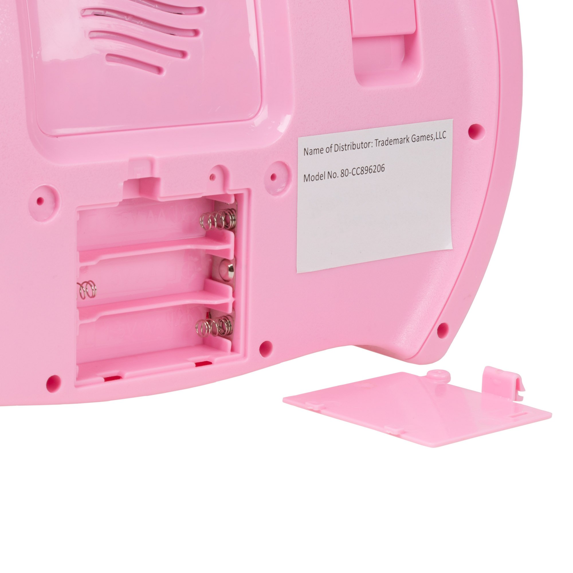 Kids Karaoke Machine with Microphone, Includes Musical Keyboard & Lights - Battery Operated Portable Singing Machine for Boys and Girls by Hey! Play! by Hey!Play! (Image #4)