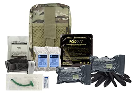 Amazon com : Advanced Trauma Individual First Aid Kit ( IFAK