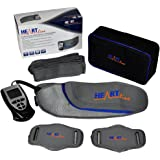 Heartline - Unisex Six Pack Waist Slimming Ab Toning Belt, Arm & Leg Toning Pads, Handy Remote for Quick and Easy Adjustments (NO REPLACEMENT PADS OR GEL REQUIRED JUST USE WATER), Tone Your Stomach Muscles Today!