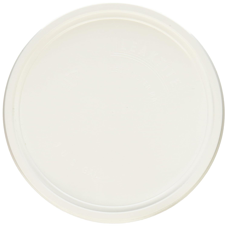 LEAKTITE 1GLD Gallon lon White Plastic Pail Lid Lancaster Distribution