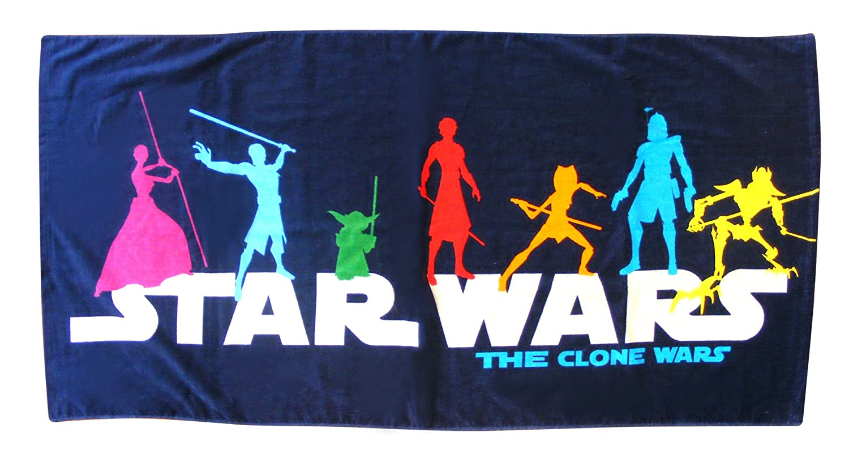 Character World Clone Wars Blast Handtuch