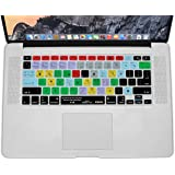 XSKN Ableton Live 9 Suite Shortcut Design Silicone Keyboard Skin Cover for Macbook 13 15 17 inch (US & EU Layout)