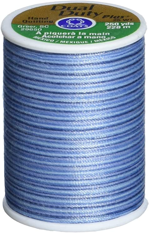 225 yd Coats S972-0838 Cotton Machine Canyon Sunset Quilting Thread Multicolor