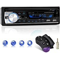 Autoradio Bluetooth, CENXINY FM 4x65W Radio Para Coche Llamadas Manos Libres Control Remoto Radio stéreo de Coche con…