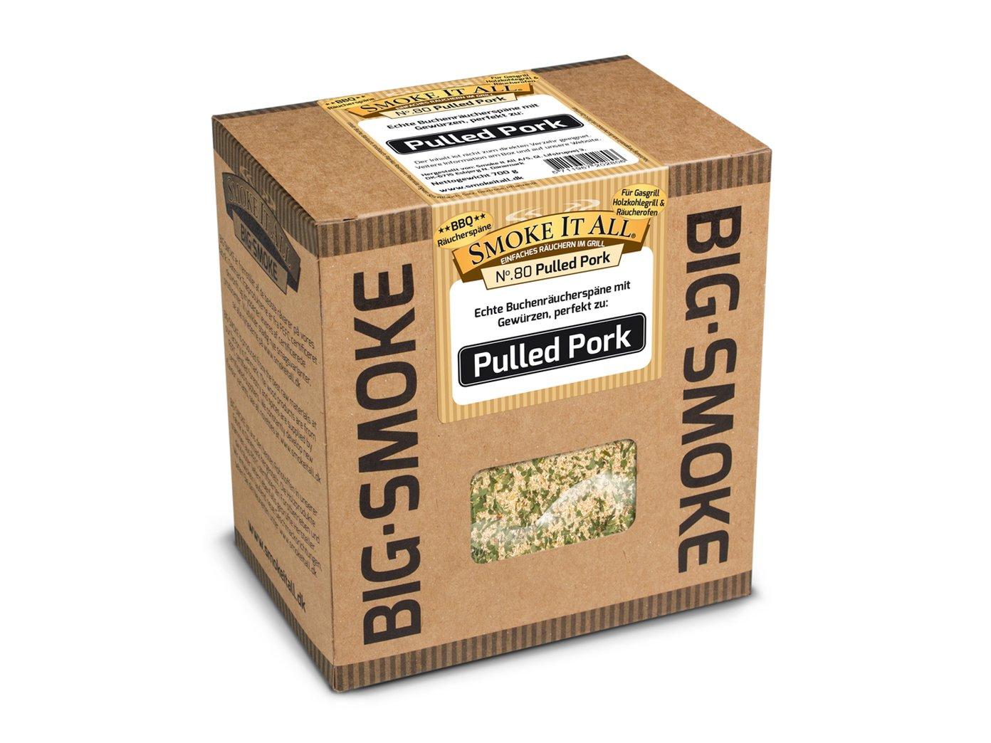 SMOKE IT ALL BBQ  Pulled Pork /& Spare Rips Räuchermischung 2x800g