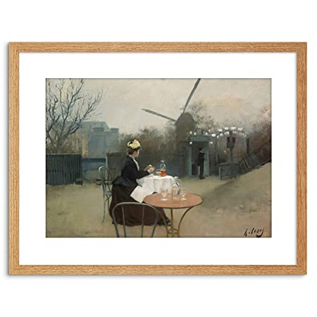 Wee Blue Coo Ramon Casas Outdoor Meal Windmill Plein Air ...