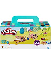 Play-Doh Play-Doh-1-La pâte Super Colour Pack 20 Pots-Pate A Modeler, A7924, Multicolore