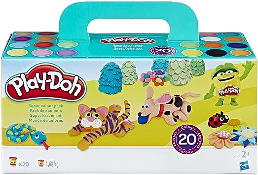 Play-Doh- Pack 20 Botes (Hasbro A7924EU8): Amazon.es: Juguetes y ...