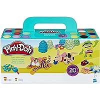 Hasbro Play-Doh A7924EU9 Super Farbenset (20er Pack), Knete