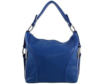 01ce4a431c Sac à main cuir Nany Italie - Bleu Roi - Sac cuir nany|sac a main ...