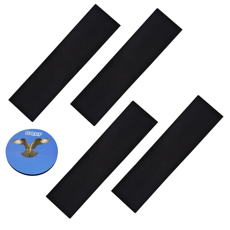 HQRP 4 -パックカーボンフィルターfor InvisiClean ic-7028 4 in 1フルサイズタワー空気清浄機+ HQRPコースター B01LDCEMPC