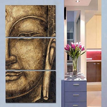 3 Pièces Bouddha Peinture Art Pas Cher Moderne Peintures à L