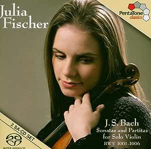 Sonatas & Partitas for Solo Violin Bwv1001-1006