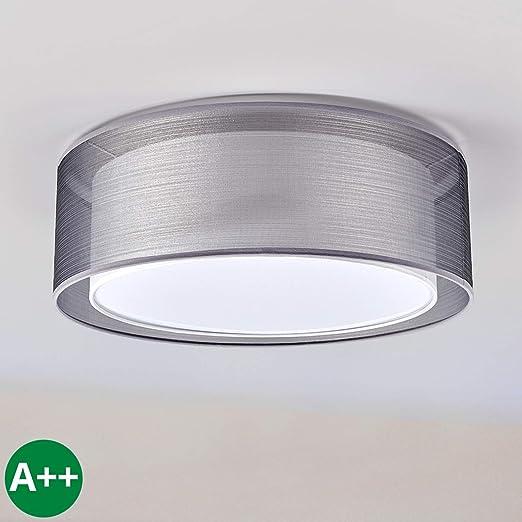 Lámpara de techo Nica (Moderno) en Gris hecho de Textura ...