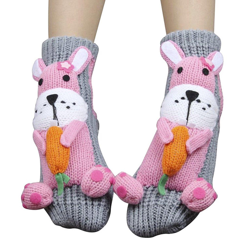 PreSox antiscivolo maglione maglia caldi delle famiglie pavimento calzini per le donne CA100000
